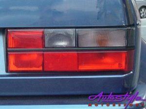 VW Golf MK1 Semi Smoked Tailights-0
