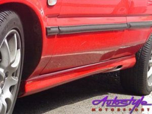 Toyota Tazz New 01 Up Side Skirts-0