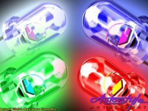 LED Wedge Push-in Bulb (blue)-564
