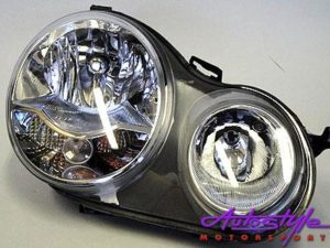 2002-2005 VW Polo Replacement Headlight RHS-0