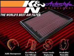 K&N Airfilter Jeep Cherokee V8-0
