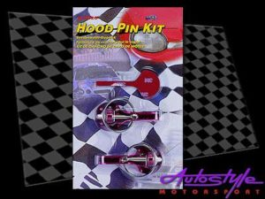 HOOD PIN KIT R-SPEC BLU/RED/SI -0