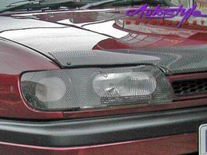 Non-original E36 Carbon Look Headlight Guard-0