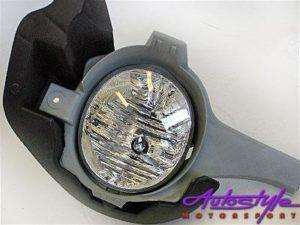 Hilux 2005+ Fog Lamp + Harness-0