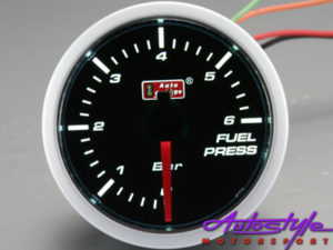 Autogauge Fuel Pressure Smoked Gauge-0