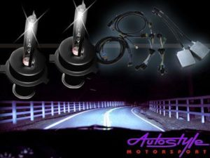 Xenon HID Conversion Kit for H4 bulb size