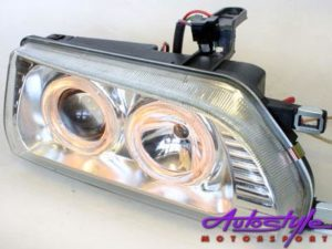 E8E9 BabycamryChrome Angel Eye Headlights-0