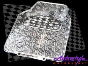 NX Floor Mats with Chrome Look Design