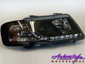 Audi A3 DRL Smoke Headlight 96-00-0