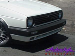 VW Golf MK2 Replacement Single Light Grille-0
