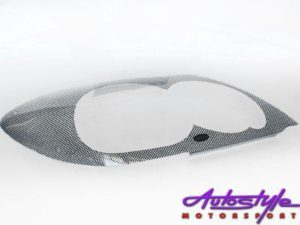 Toyota Fortuner 05up Carbon Headlight Shields-0