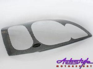 Opel Astra 95up Carbon Headlight Shields-0