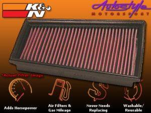 K&N Airfilter for Renault Megane DSL-0
