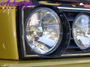 Vw Golf MK1 Diamond Chrome Headlights-0