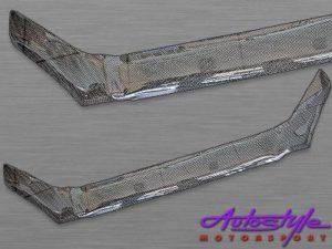 Carbon Look Bonnet Shield for Hyundai Tucson-0