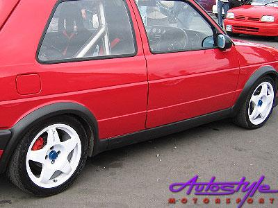 Vw Golf Mk2 Plastic Wheel Arch Kit -0