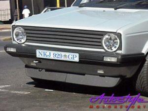 """VW Golf MK1 Narrow Bumpers """"old school"""" 2piece Front Spoiler-0"""