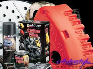 Duplicolor Caliper Paint Red Kit-0