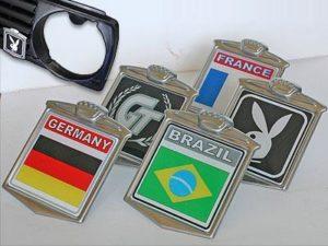 Grille Badges, assorted designs-0