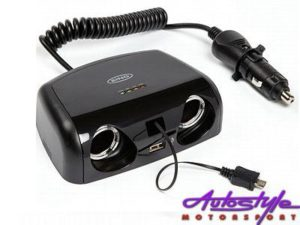 Ring Multi Socket Charger with USB & Micro USB-0