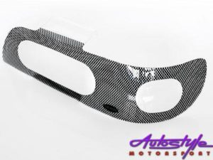 Nissan Sentra '92-'97 Carbon Headlight Shields-0