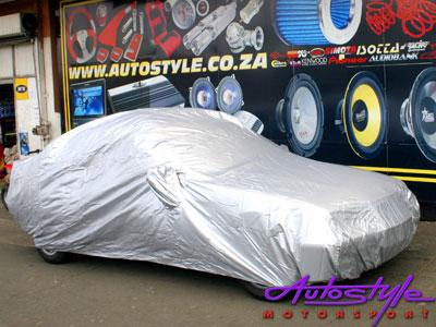 CAR COVER SILVER LARGE-0
