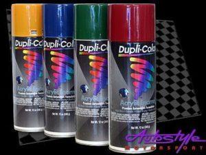 Duplicolor Acrylic Enamel Yellow Spraypaint-0