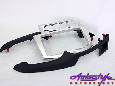 Toyota Yaris T3 Radio Fascia Plate Double And Single Din -0