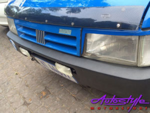 Fiat Uno Carbon Look Bonnet Shield-0