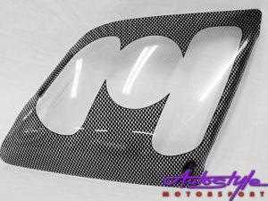 Isuzu 08 + Carbon Look Headlight Guard-0