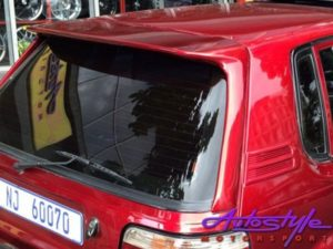 Toyota Conquest/Tazz Long Leg Roofspoiler with Brakelight-22477