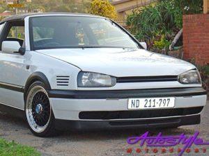 VW Golf Mk3 Bonrath 2pc Plastic Front Spoiler-0
