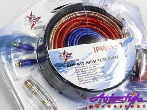 ICE Power IPW-4KIT 4 Gauge Wiring Kit-0