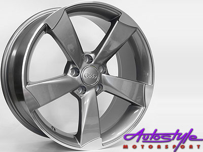 """17"""" RS3 Style Replica 5/100 Alloy Wheels-0"""