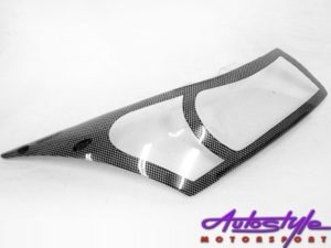 2008 Chevrolet Cruze Carbon Headlight Shields-0