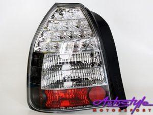 Honda Vtec 3Dr Smoke & Clear Led Taillight-0