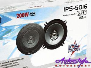 "Ice Power 5"" 200w Dual Cone Speaker-0"