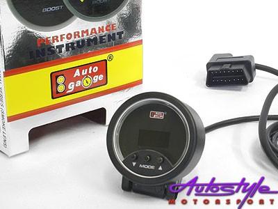 Autogauge 52mm Tachometre-16425