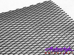 R-Line Wire Mesh Anodized Black (100x33cm)-0