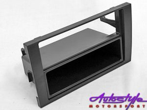 Fascia Trim Plate for Audi A4 B6 Double Din-0