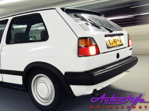 VW Golf MK2 Narrow Rear Bumper (plastic)-0