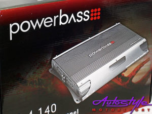 Powerbass 6000W 4 Channel Amplifier-0
