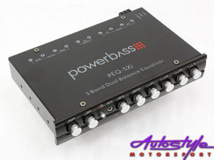 Powerbass 5 band car audio equalizer-0