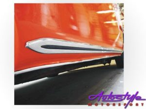 VW Kombi T1 1950-67 Side Sill Trim (pair)-18706