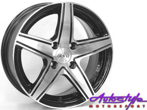 """14"""" Evo Star 4/100 Alloy Wheels-0"""