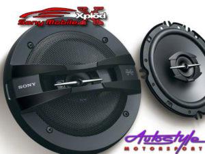 """Sony XS-GTF1638 6.5"""" 260w 3way Midrange Speakers-0"""