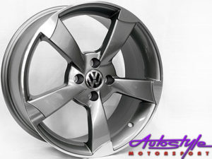 "17"" RS3 Style 4/100 Alloy Wheels-0"