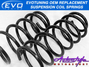 Evo OEM Replacement Springs for VW Golf MK2 (fronts)-0