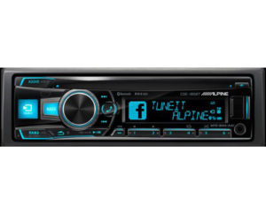Alpine CDE-185BT Mp3 with USB and Bluetooth-0