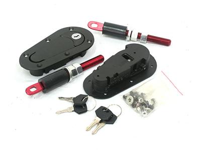 Universal Bonnet Catch Kit with Key-0